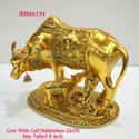 Cow With Calf And Ladoo Gopal Big GLOX