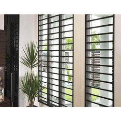 Modern Mild Steel Window Grill