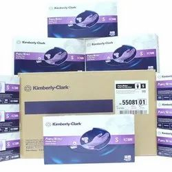 Kimberly Clark, Purple Nitrile Examination Gloves, Model Number/Name: Kc-500