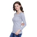 Ladies Grey T Shirt