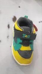Kids Designer Yellow Shoes