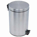 SS Paddle Dustbin