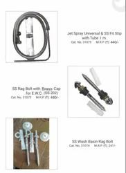 JET Spray Universal & SS Fit Stip with Tube for Bathroom Fitting