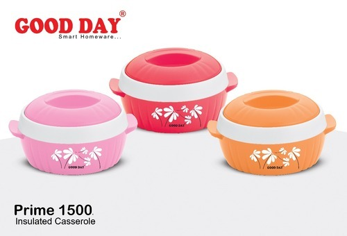 GOODDAY Pink/Red/Orange Prime Insulated Casserole 1500 Ml, Size: 1500 Ml