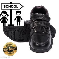 Fancy Synthetic Kid's School Shoes