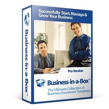 Business In A Box 2013 Business Document Templates Software ...