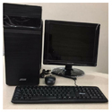 Core 2 Duo Desktop Pc, Screen Size: 15 Inch