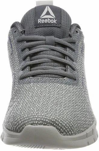 5b41dfaf592f85 Reebok Men Instalite Pro Alloy And Stark Grey Running Shoes