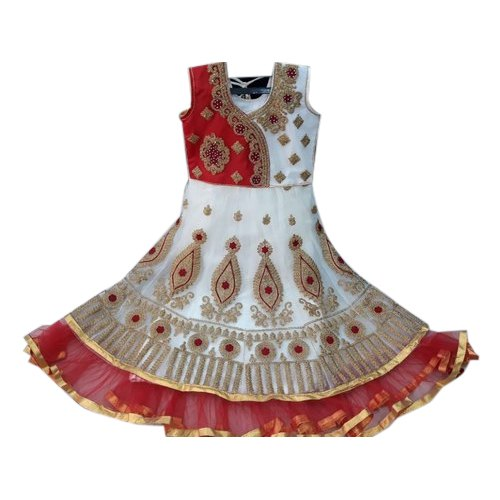 Party Wear Nathy Creation Embroidery Anarkali Suit, Packaging Type: Packet