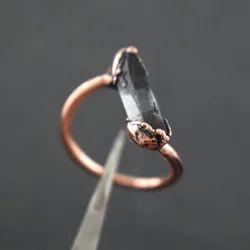 Crystal Rose Gold Ring