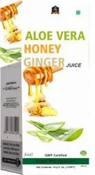 Aloe Vera Honey Ginger Juice
