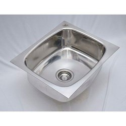 24x18x10 Inch Stainless Steel Oval Bowl Kitchen Sink