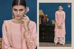 Vipul DCAT-1003 Series 1021-1029 Stylish Party Silk Kurti