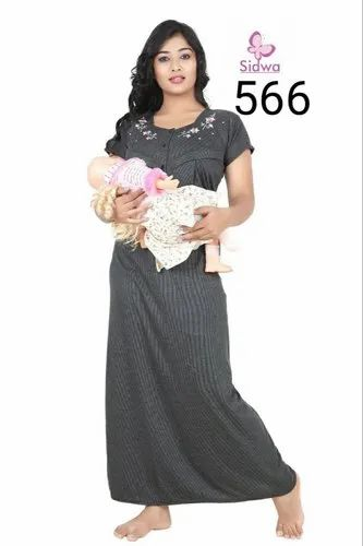 ae382983509 Ladies Feeding Night Dress. Prominent   Leading Manufacturer from  Ahmedabad