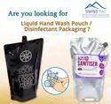 Liquid Hand Wash Spout Pouch