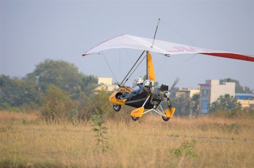Powered Hang Glider with Rotax 582 Engine