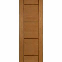 Interior Finished Hardwood Flush Door, for Home