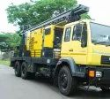 600 M Borehole Diesel Engine Water Well Drilling Rig Machine