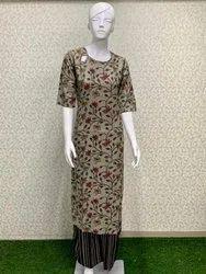 Rayon Ladies Designer Suit