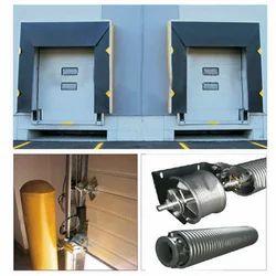 Industrial Overhead Sectional Door, For Commercial