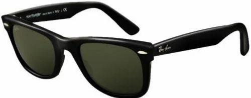Male Ray-Ban Wayfarer Sunglasses-Green-RB2140-901-50 766bc156a7b52