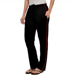 Stylcozy Black Color Pocket Women Lower