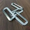 12mm Mild Steel Triangle Buckles Nickel