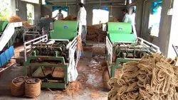 Coir Rope Making Machine.