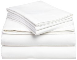 White Double Bed Sheet