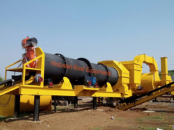 Mobile Hot Mix Plant DM45, Capacity: 100 T/h