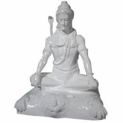 Lord Shiva Fiber Statue