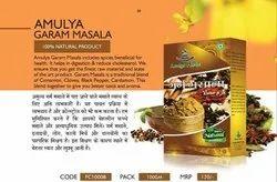 Amulya Organic 100 Gms Garam Masala, Powder, Packaging Type: Box