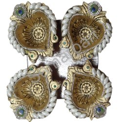 Golden Stone Diya 7092004891350