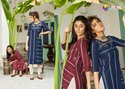 Jennifer -2 Handloom Cotton Designer Straight Long Kurtis