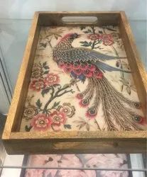 Wooden Tray MDF Tray Serving Tray