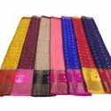 Assorted Party Wear Ladies Banarasi Chiffon Silk Saree