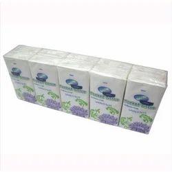 White Cotton Pocket Tissue Paper