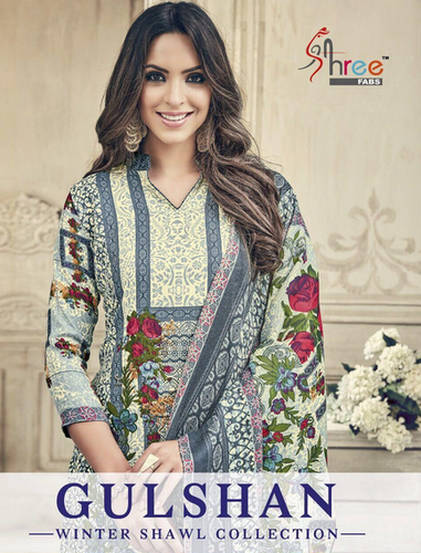 818721588 Printed Party Wear Shree Fab Gulshan Suits, Rs 480 /piece   ID ...