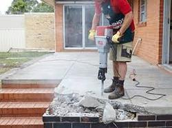 RCC Concrete Breaking Services Contractors Work