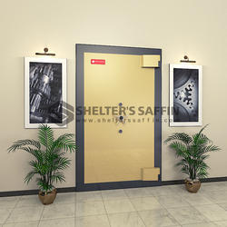 Carbon Steel Strong Room Doors