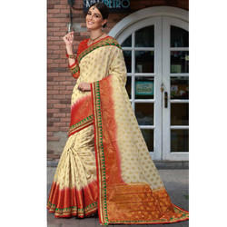 Casual Wear Fancy Cotton Saree