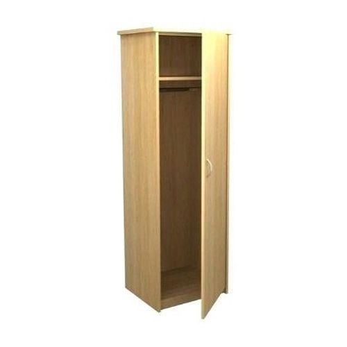 Light Brown Wooden Wood 2 Door Wardrobe Cabinet
