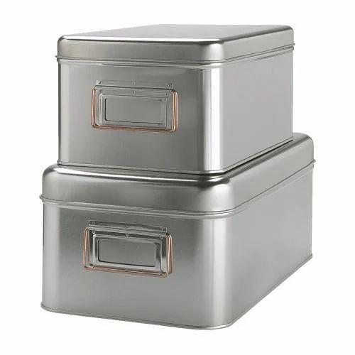 Stainless Steel Storage Boxes  sc 1 st  IndiaMART & Stainless Steel Storage Boxes Ss Storage Box ss storage box ...