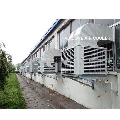 Aircone Plastic Window & Wall Mount Industrial Ducting Air Cooler