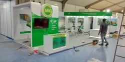 Decoration Wood Work Stall Fabrication for Exhibition Events Seminars Conferences