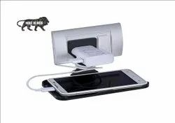 Wall Holder for Phone Charging Stand Mobile with Holder - plastic Wall Holder
