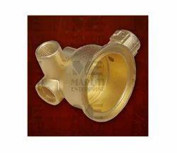 Brass Solenoid Bottom Valve
