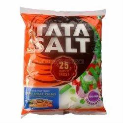 White Tata salt, Packaging Type: Plastic Bag