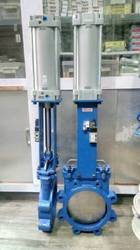 Pneumatic Knife Edge Gate Valve