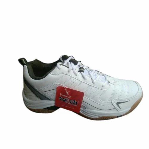 White Lakhani Touch Sport Shoe, Size: 6